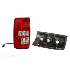 HOLDEN COLORADO  RG  06/2012 ~ 06/2016  TAIL LIGHT (NON LED)  LEFT HAND SIDE, , scaau_hi-res