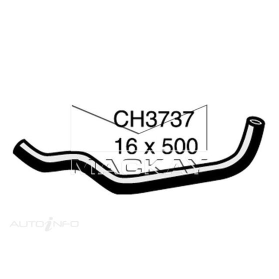 Heater Hose HONDA CRV  2 Litre  valve 1 to intake manifold (Left Hand Drive)*, , scaau_hi-res