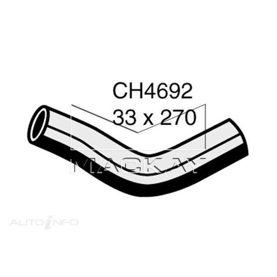 Radiator Upper Hose  - TOYOTA HILUX GGN15R - 4.0L V6  PETROL - Manual & Auto, , scaau_hi-res