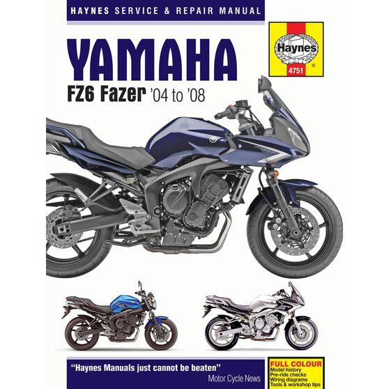 YAMAHA FZ6 FAZER 2004 - 2008, , scaau_hi-res