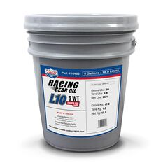 Synthetic L10 Racing Gear Oil / 1X1 / 5 Gallon Pail