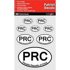 ITAG PATRIOT DECALS SHEET - PEOPLES REPUBLIC OF CHINA