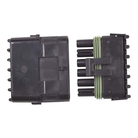 WEATHERTIGHT 6 PIN CONNECTOR MALE/FEMALE, , scaau_hi-res