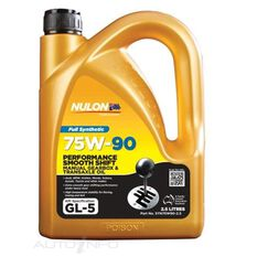 NULON 2.5LT 75W/90 SYNTHETIC GEAR OIL, , scaau_hi-res