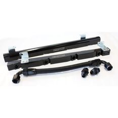 Holden 5L EFI Rail kit Black, , scaau_hi-res