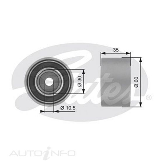 T42194 SBDS IDLER PULLEY, , scaau_hi-res