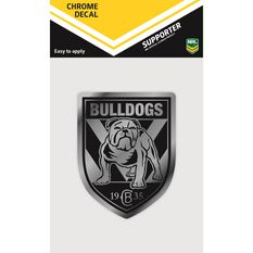 BULLDOGS ITAG CHROME DECAL