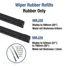 WIPER TRID0N RUBBER 28IN BOXED, , scaau_hi-res