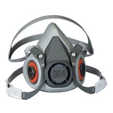 HALF FACE RESPIRATOR 6000 SERIES MEDIUM, , scaau_hi-res