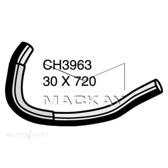Radiator Lower Hose  - DAIHATSU TERIOS J100G - 1.3L I4  PETROL - Manual & Auto, , scaau_hi-res