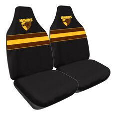 AFL HAWTHORN SEAT COVER SIZE 60