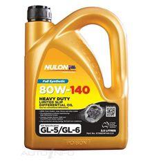 NULON 2.5LT 80W/140 SYNTHETIC GEAR OIL, , scaau_hi-res