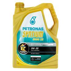 SYNTIUM 5000 XS 5W30 5 LITRE ENGINE OIL PLASTIC BOTTLE, , scaau_hi-res