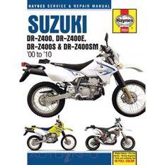 SUZUKI DR-Z400, DR-Z400E, DR-Z400S & DR-Z400SM 2000 - 2010, , scaau_hi-res