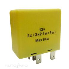 FLASHER  12V 6PIN OUTAGE BOXED (EA), , scaau_hi-res