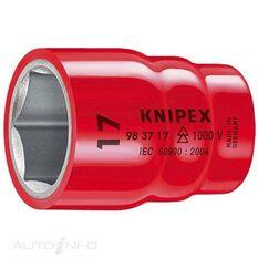 """KNIPEX 1000V 3/8"""" DR HEX SOCKET 12MM, , scaau_hi-res"""