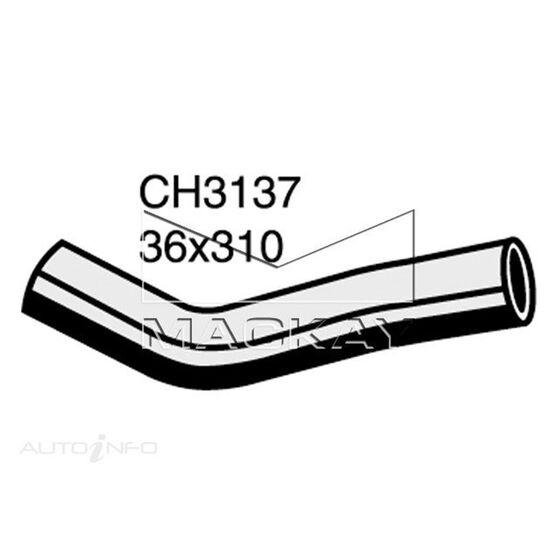 Radiator Upper Hose  - JEEP CHEROKEE KJ - 3.7L V6  PETROL - Manual & Auto, , scaau_hi-res