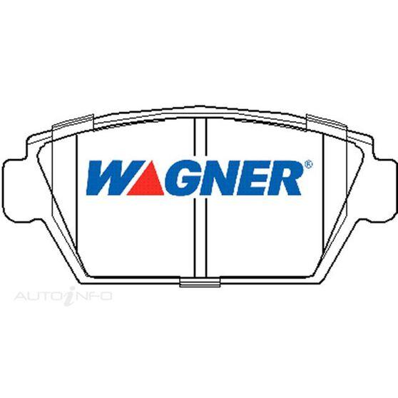 Wagner Brake pad [ Mitsubishi Galant 1987-96 R ], , scaau_hi-res