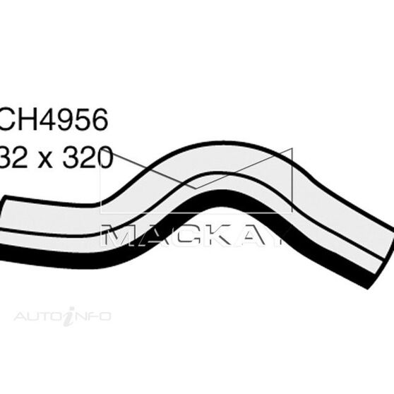 Radiator Upper Hose  - DAEWOO KALOS T200 - 1.5L I4  PETROL - Manual, , scaau_hi-res