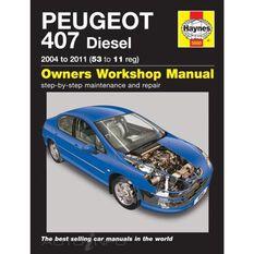PEUGEOT 407 DIESEL (2004 - 2011), , scaau_hi-res