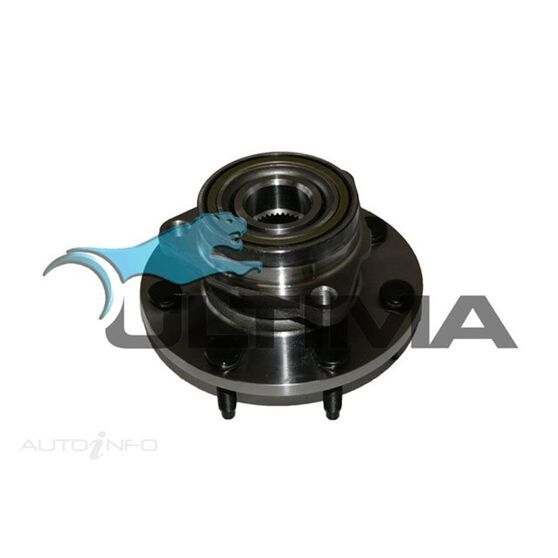 HUB ASSY (F) F250 (EX DUAL REAR WHEEL) W/REAR WHEEL ABS LHS/RHS, , scaau_hi-res