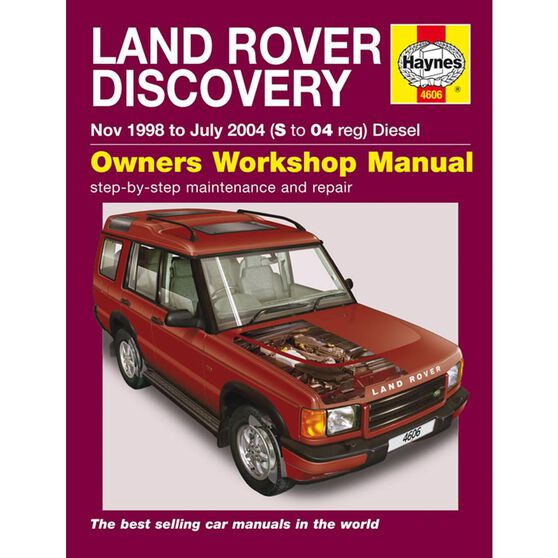 LAND ROVER DISCOVERY DIESEL (1998 - 2004), , scaau_hi-res