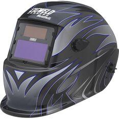 Weldskill Auto-Darkening Welding Helmet Variable Shade 9-13 Tribal