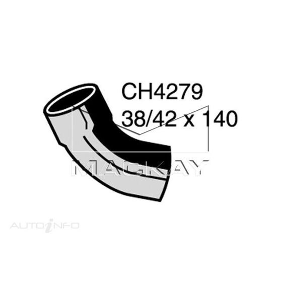 Radiator Lower Hose  - JAGUAR E TYPE SERIES 3 - 5.3L V12  PETROL - Manual & Auto, , scaau_hi-res