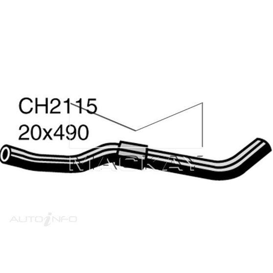 Radiator Upper Hose  - DAIHATSU CHARADE . - 1.0L I3 Turbo PETROL - Manual & Auto, , scaau_hi-res