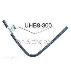 """90° Universal Hose Bend - Water Applications - 8mm (5/16"""") ID - 300mm x 300mm Arm Lengths (EPDM Rubber)"""