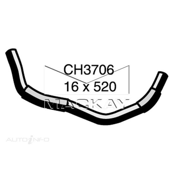 Heater Hose HONDA CIVIC    1.5 Litre  Inlet #1 ( Left Hand Drive Application)*, , scaau_hi-res