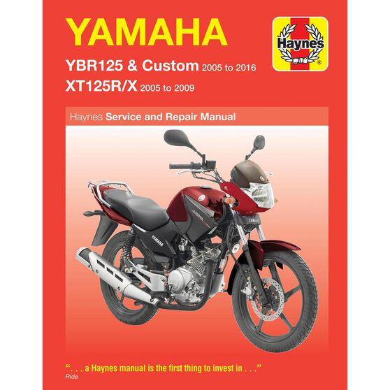 YAMAHA YBR125 & XT125R/X 2005 - 2013, , scaau_hi-res