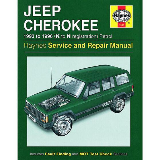 JEEP CHEROKEE PETROL (1993 - 1996), , scaau_hi-res