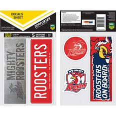 ROOSTERS ITAG BUMPER DECALS - SET OF 5, , scaau_hi-res