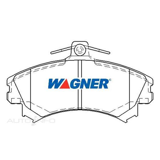 Wagner Brake pad [ Mitsubishi/Proton/Smart & Volvo 20012014 F ], , scaau_hi-res