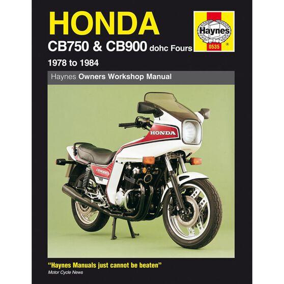 HONDA CB750 & CB900 DOHC FOURS 1978 - 1984, , scaau_hi-res