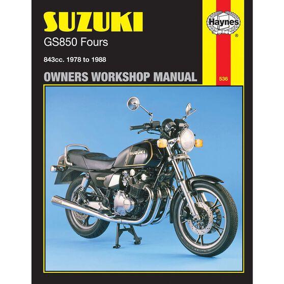 SUZUKI GS850 FOURS 1978 - 1988, , scaau_hi-res