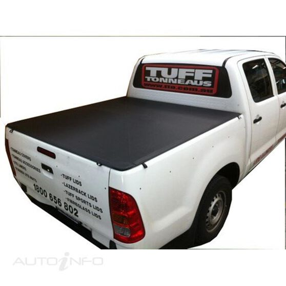 HILUX A DECK SR DUAL CAB WITHOUT SPORTS BARS & HEADBOARD, BUNJI UTE TONNEAU COVER, , scaau_hi-res