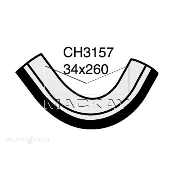 Radiator Lower Hose  - NISSAN CARAVAN E24 - 2.0L I4  PETROL - Manual & Auto, , scaau_hi-res