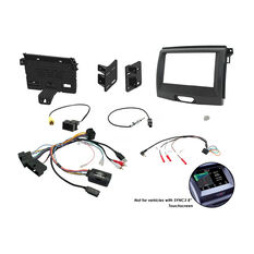 INSTALL KIT TO SUIT FORD RANGER PX 2 (BLACK), , scaau_hi-res