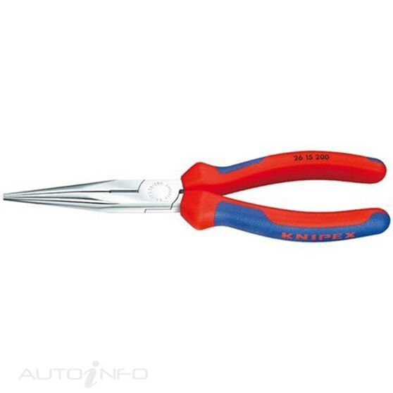 KNIPEX SNIPE NOSE PLIER 200MM, , scaau_hi-res