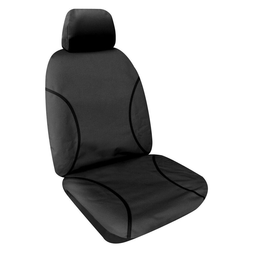 Kakadu Canvas Tailor Made Seat Covers Black Supercheap