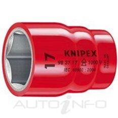 """KNIPEX 1000V 3/8"""" DR HEX SOCKET 14MM, , scaau_hi-res"""