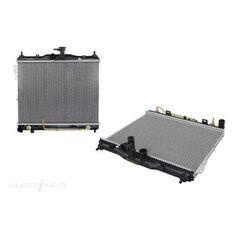 HYUNDAI GETZ  TB  09/2002 ~ 2011  RADIATOR  AUTOMATIC  FAN BRACKET HOLES OFF SET  CORE SIZE: 490MM X 370MM X 16MM (LENGTH X HEIGHT X WIDTH), , scaau_hi-res