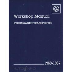 WSHOPMAN  VW TRANSPORTER 1963-1967   9780837603919