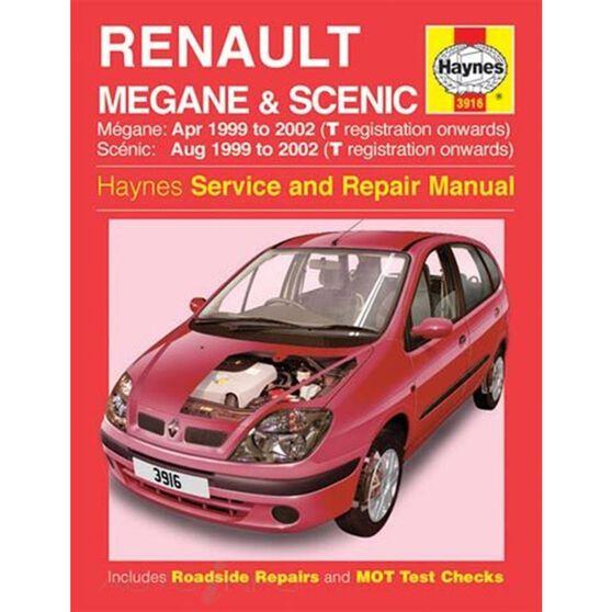 RENAULT MEGANE & SCENIC PETROL & DIESEL (1999 - 2002), , scaau_hi-res