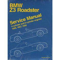 SERVMAN  BMW Z3 ROADSTER 1996-1998   9780837603278