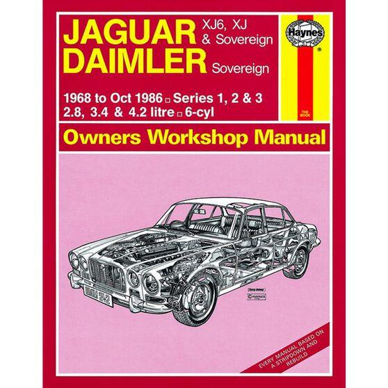 JAGUAR XJ6, XJ & SOVEREIGN; DAIMLER SOVEREIGN (1968 -1986), , scaau_hi-res