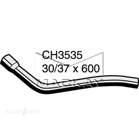 Radiator Upper Hose  - JEEP CHEROKEE XJ - 2.5L I4 Turbo DIESEL - Manual & Auto, , scaau_hi-res