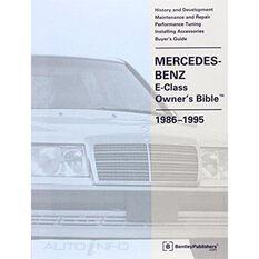 OWNBIBLE  MERCEDES-BENZ E-CLASS (W124) 1986-1995 9780837602301, , scaau_hi-res